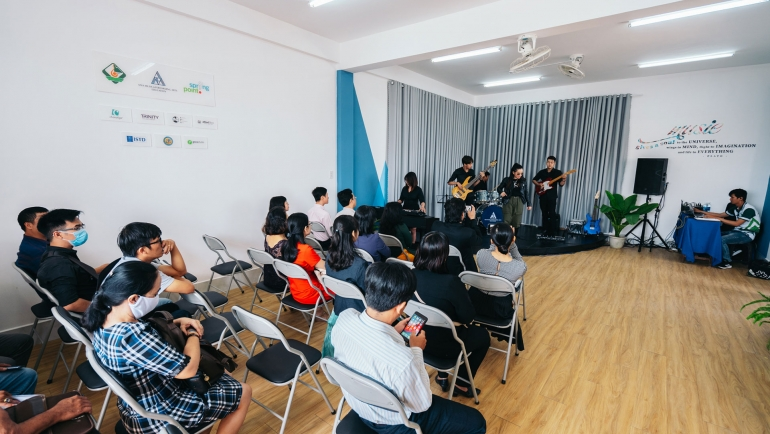 Dream Space's opening ceremony at Can Tho's College of Culture and Arts